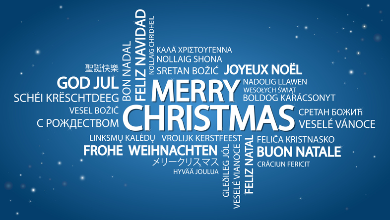 Buon Natale Meaning In English.Language Of The Holidays Heard Round The World